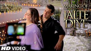 Making of 'Jalte Diye' VIDEO Song | Prem Ratan Dhan Payo | Salman Khan, Sonam Kapoor | T-series