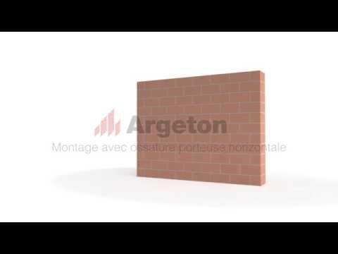 Argeton Montage horizontal avec ossature porteuse