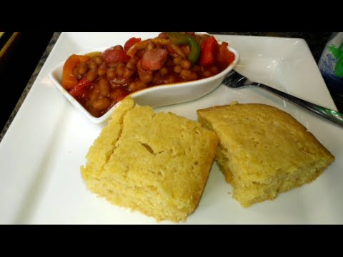 Homemade Corn🌽 Bread 🍞 With Cream Of Corn And Coconut Milk 🇯🇲easy As 1-2-3
