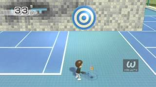 Wii Sports: Tennis: Target Practice - My Record (49 Pts.)