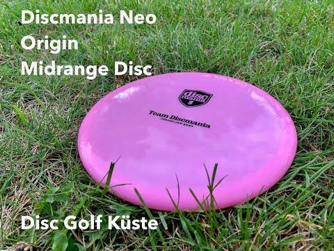 Discmania Origin in Neo Plastic - New Midrange First Impressions