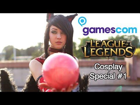 Gamescom 2015 League of Legends Cosplay Music Video