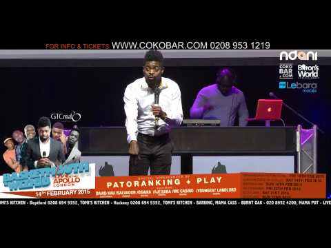 "BASKETMOUTH ""MY VIRGIN WIFE"" - BASKETMOUTH LIVE AT THE APOLLO - 14TH FEB 2015 - HMV"