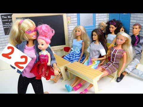 ОБМАНУЛА МАМУ Родительское Собрание В Школе Мультик #Барби Школа Куклы Про школу
