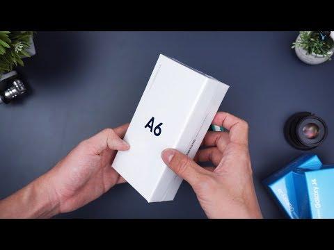 Rp3.799 Juta! Unboxing Samsung Galaxy A6 Indonesia!