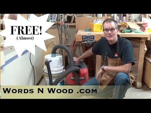 clips diy sawdust shop-vac woodworking workshop