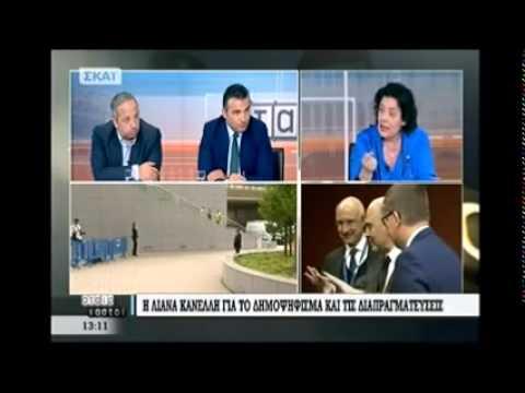Η Λιάνα Κανέλλη ειρωνεύεται το εμπάργκο ΣΥΡΙΖΑ στον ΣΚΑΙ