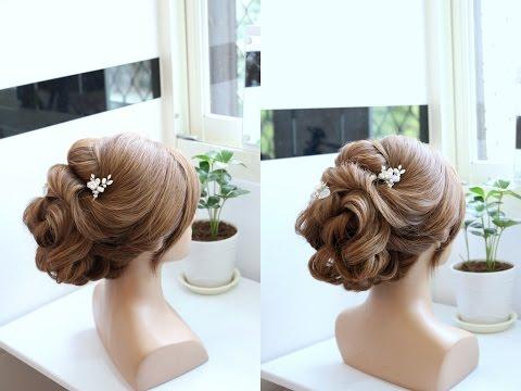 歐系宮廷 迷人線條新娘髮型教學