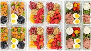 Healthy Breakfast Meal Prep Recipes | Back to School + Quick + Easy by The Domestic Geek