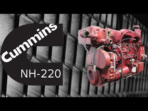 Cummins NH-220 Engine 1.31.x-1.32.x