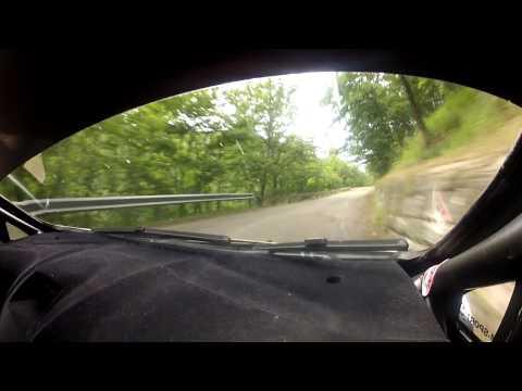 34 Rally del Casentino onboard Kubica-Mazur