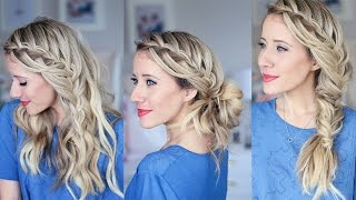 3-in-1 Cascading Waterfall | Build-able hairstyle | Cute Girls Hairstyles by Cute Girls Hairstyles