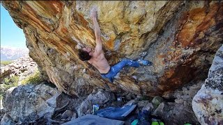 Uncut: Eric Jerome - Show Your Scars (V14/8B+) by mellow