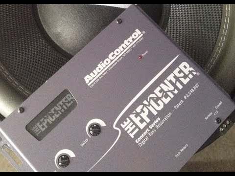 Epicenter - Just showing you guys how works this bass processor with music with not loud bass..... Thumbs up if you like the video or if have any cuestion just let me kn...