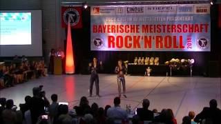 Carolin Steinberger & Tobias Planer - Bayerische Meisterschaft 2014