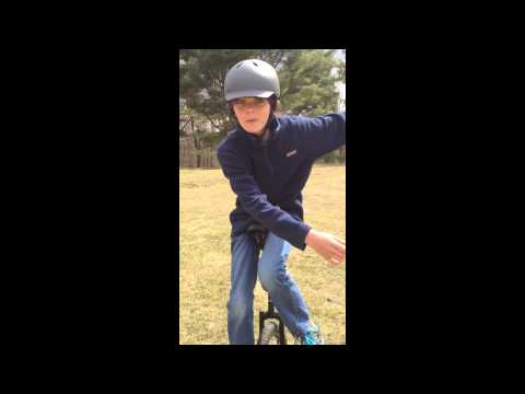 Henry Taylor and his Unicycle