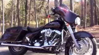 4. Used 2007 Harley Davidson Street Glide Motorcycles for sale in Georgia