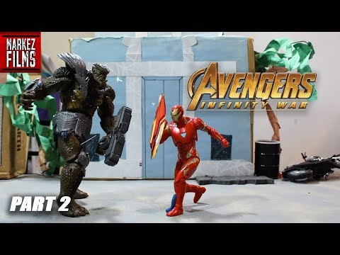 Avengers: INFINITY WAR Stop-Motion Film Series [Part 2]