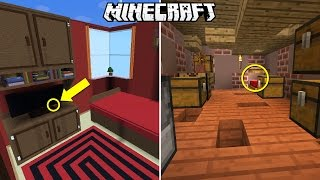 THE BIGGEST AND SMALLEST FIND THE BUTTON MAPS IN MINECRAFT!!