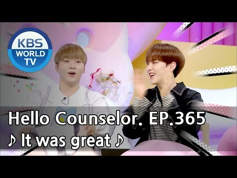 I'm the main vocalist, but my throat... I will try! [Hello Counselor Sub: ENG,THA/2018.05.21] (видео)