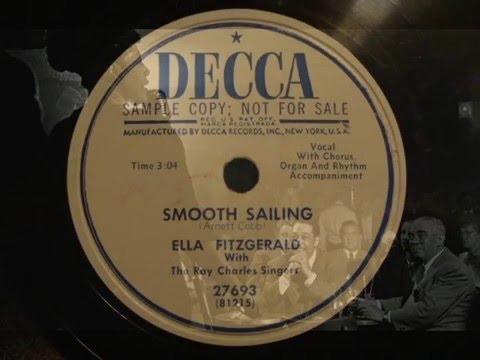 78rpm Smooth Sailing - Ella Fitzgerald, 1951 - Decca Promo 27693