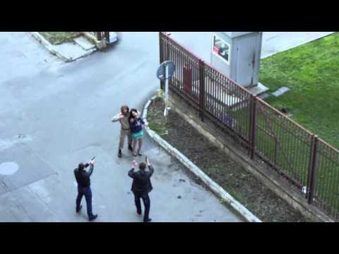 Солдат напал на актера прямо во время съемок