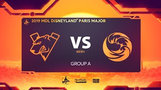 Virtus.pro vs Beastcoast, MDL Disneyland® Paris Major, bo3, game 1 [4ce & Adekvat]