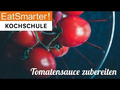Klassische Tomatensauce zubereiten