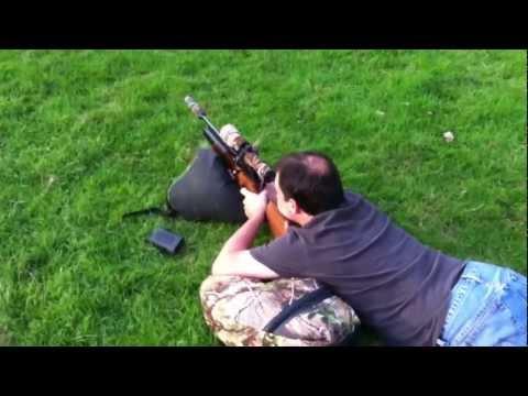 Theoben mfr 177 cal 100 yards target shooting