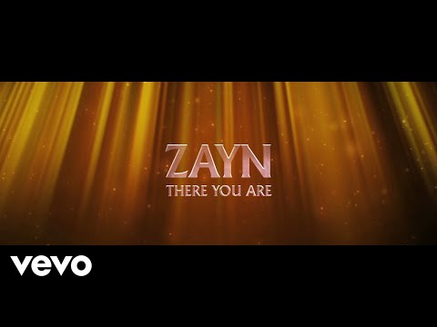 ZAYN - There You Are (Lyric Video) видео
