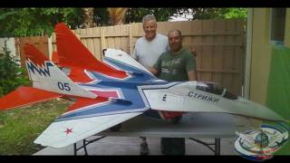 MiG-29 Strizhi 1/6 Scale R/C Twin Turbine Power