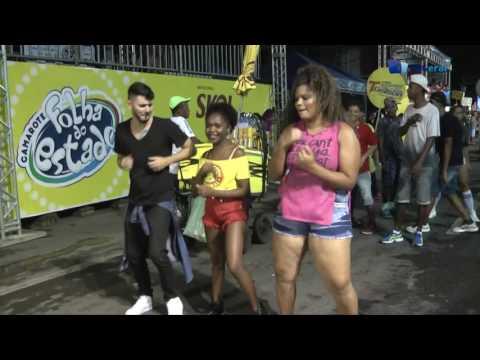 Raphael Dawes quer aprender a dançar na Micareta de Feira 2017 - TvGeral.com.br