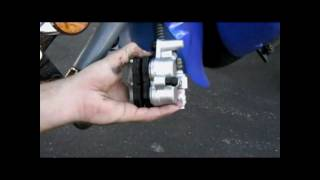 A how to video on how to change the brake pads and/or removal of the brake caliper.