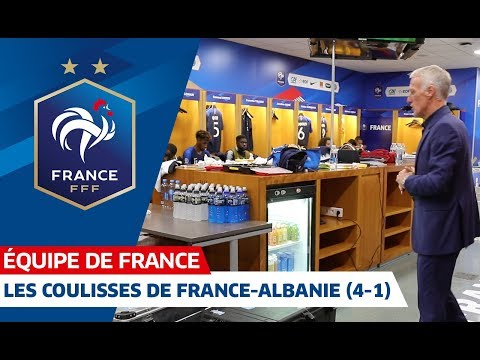 Les coulisses de France-Albanie (4-1), Equipe de France I FFF 2019