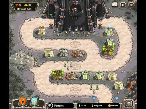 Kingdom Rush Walkthrough Level 12 With Skips