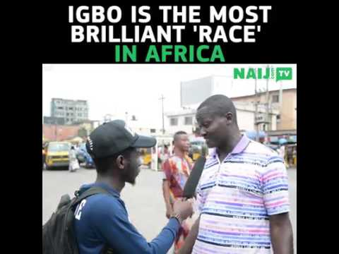 Biafra: Igbos are the most brilliant race in Africa