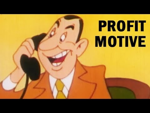 The Profit Motive: Going Places | Pro-Capitalism Propaganda Cartoon | 1948