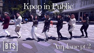 [KPOP IN PUBLIC - AIRPLANE PART.2 DANCE COVER] -- BTS -- 방탄소년단 [YOURS TRULY x BLACK CORE]