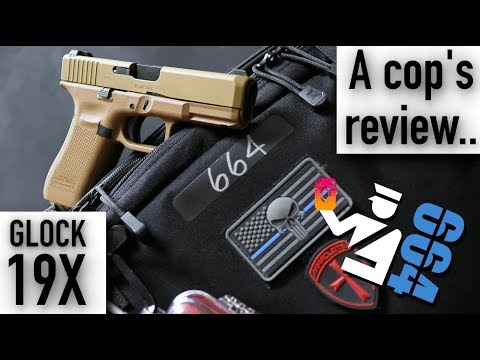 Glock 19X Review and Live Fire by a COP