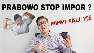 Video Prabowo mau Stop Impor ? Apa kabar kudanya? MP3, 3GP, MP4, WEBM, AVI, FLV November 2018