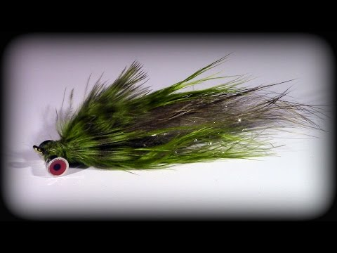 Fly Tying: Sculpzilla Streamer (видео)