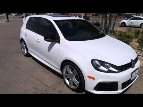 2012 Volkswagen Golf R 4-Door w/Sunroof & Nav