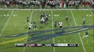 Adonis Thomas vs N. Illinois 2011 vs  ()