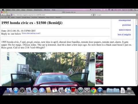 Craigslist Bemidji Used Cars and Trucks - Private For Sale by Owner ...