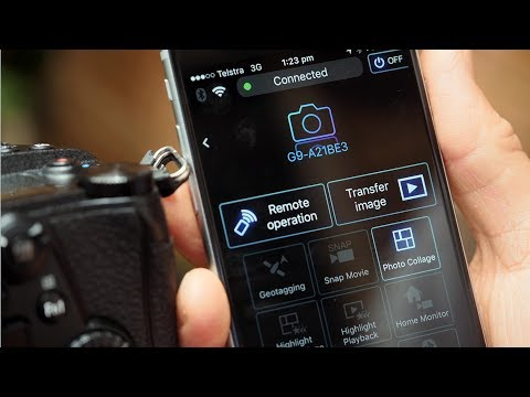 How to Connect Your Lumix G Camera to Your Smart Phone or Tablet
