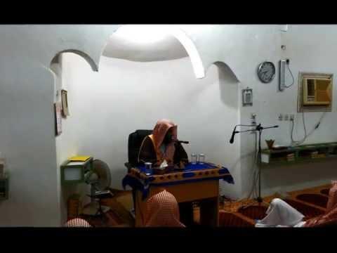 كلمة الشيخ إبراهيم الهلالي لطلاب مركز عمق -الجزء الثاني