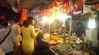 Xiamen China  city pictures gallery : Walking tour 'Food Street' Xiamen China 福建 厦門 台灣小吃街