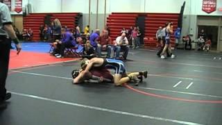 Josh Luck Washington vs Daniel Slobasewski W'Burg 138 lbs