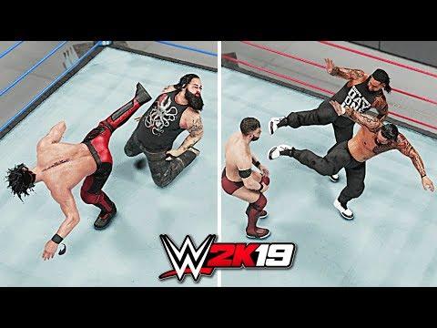 WWE 2K19 All Superkicks!!