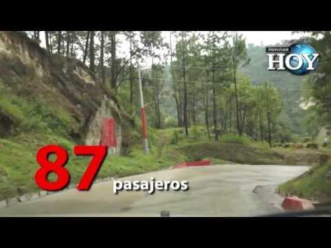 Bus alcanzaría 225 kms/hora en accidente en San Martín Jilotepeque, Chimaltenango